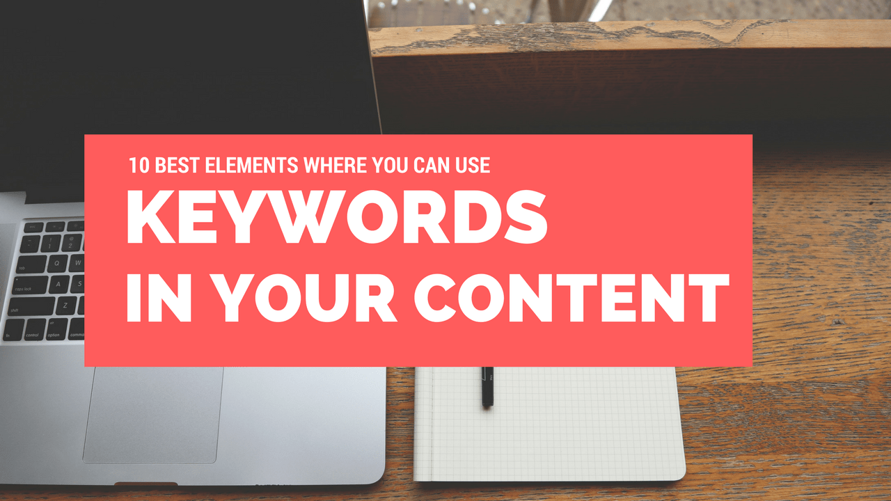 10 BEST KEYWORDS PLACEMENT IDEAS