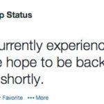 whatsapp server down