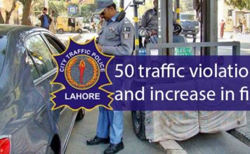 50 Traffic Violations & Fines proclaimed by New Government