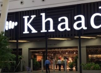 KHAADI - Retail Brand of the Year Award of the year at HUM STYLE AWARDS 2018